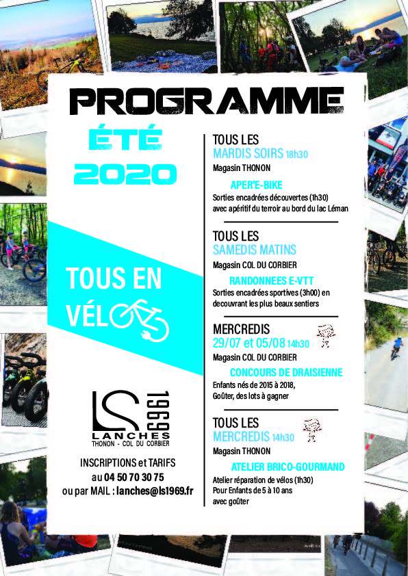 PROGRAMME SORTIES 2020