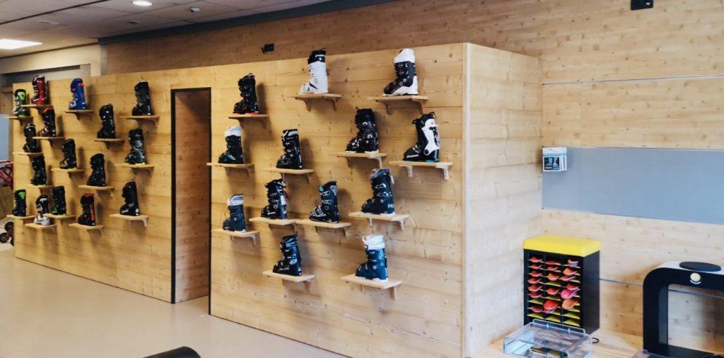rangement chaussures de ski